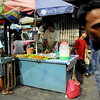 This food stall like most others are on the right of way of city street. Divisoria is the name of a very old market that dates back to Spanish times. Now any streets around the old market is called Divisoria although they have their own street names.