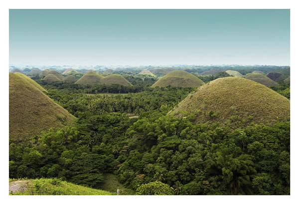 CHOCOLATE HILLS & MAN-MADE FOREST, BOHOL, PHILIPPINES
