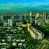 Makati skyline with Urdaneta Village shown on the left.