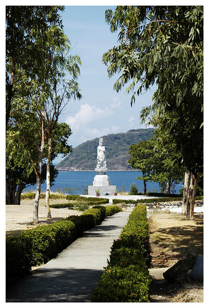 "<FONT size=""-1"">This is the site of the Japanese Peace statue given to the Philippines as a symbol of their apology and sorrow for the war dead of Corregidor."