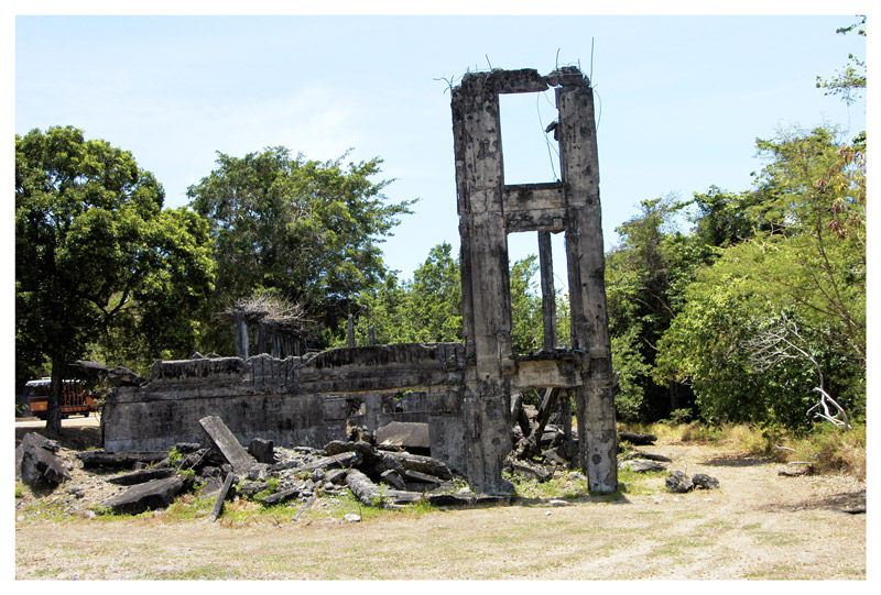 """<FONT size=""""-1"""">A view of one of the ruins."""