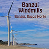 "The Bangui Windmills are located at the municipality of Bangui, Ilocos Norte, Philippines. Located at the north-west tip of Luzon, Longitude N18o 31' 30"" and Latitude N120o 40' 30"" up to N120o 45' 30"", the windmills face the sea from where the wind blows towards the land. Its location along the shore is optimal in removing windbreaks and has a terrain roughness of 0. The site, Bangui Bay, borders the South China Sea, free of any trees and vegetation that is approximately 9km long and 100 meters wide. The area is undeveloped and uninhabited making it ideal as a site and poses no threat to the environment."