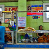 The Ilocano langonisa section of the market.
