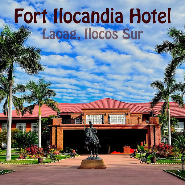 The following pictures where taken when we took a tour of Ilocos Province in February 2013. Pictured above is the main entrance to Fort Ilocandia Hotel and Casino. The hotel is only 30 minutes away from Laoag International Airport. The statue in front is of Spanish Juan de Salcedo.