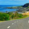 A view of the coastline of Ilocos Norte.