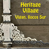 The Vigan Heritage Village is a town in Vigan, Ilocos Sur that is considered the best-preserved example of a planned Spanish colonial town in Asia. In November 1999, it was placed on the World Heritage List commemorating its cultural significance