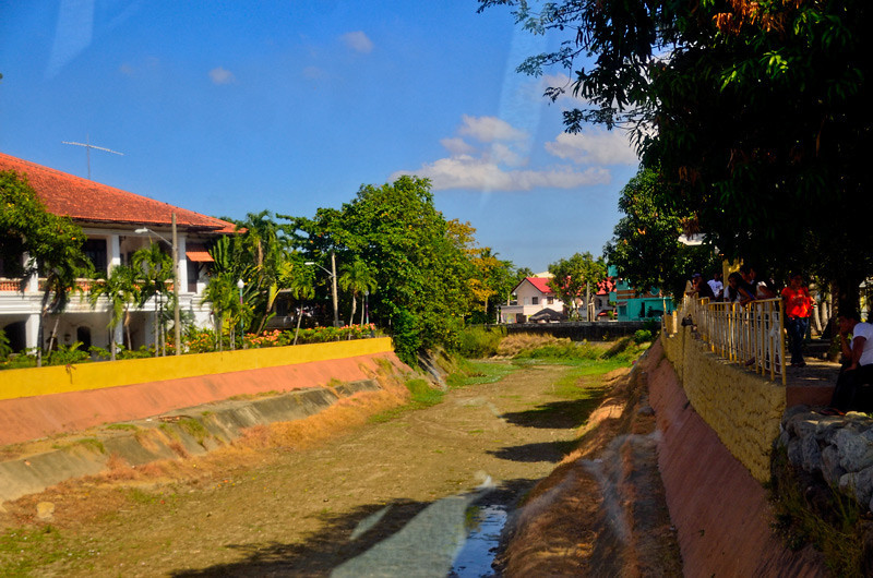 Batac River and Marcos home is on the left.
