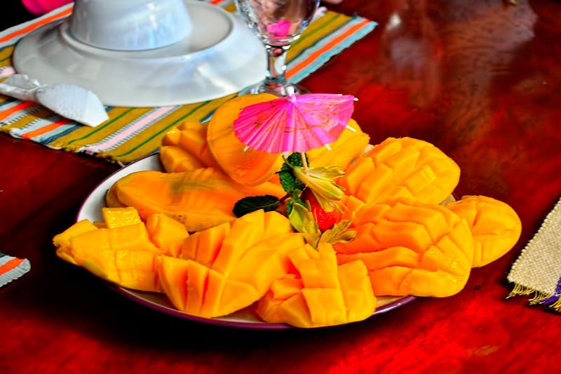 Philippine mangoes.