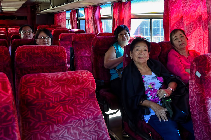 We were the only passengers from the airport to Fort Ilocandia Hotel.