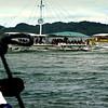 The motorized outrigger boats that ply the waters from Jaro to Guimaras Island.