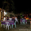 A dinner held at the backyard of the brides grandmother the day after the wedding.