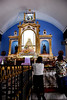 The main altar that houses the Virgin of Manaoag.
