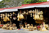 These two stores sell walis (brooms) baskets, wind mobiles, chairs, fans and other handicrafts.