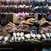 This is the dried fish section of the market