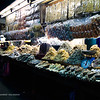 The dried fish section of the central market.