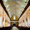 A view of the nave of St. Anne. This is the central approach to the main altar.