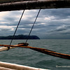 Our outrigger boat on the way to Guimaras.