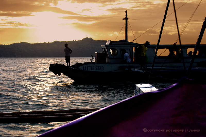 This was taken at Jaro when we arrived at from Guimaras.