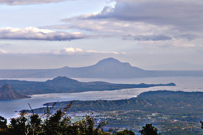 "There is a small volcanic island in the middle of the lake which has been the site of almost all the historic volcanic activity. <br /> <br /> The Taal Volcano itself has a lake of its own inside its crater called ""Crater Lake"". One can even swim inside the Crater Lake but the lake's water is a very diluted form of sulfuric acid with high concentration of boron, magnesium, aluminum and sodium in salt form. Its mean depth measures 20 m. In its dark water no life of fish is possible."