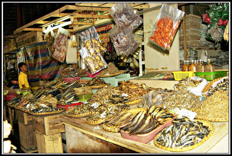 Taken at the dried fish section of the Tagbilaran City public market.
