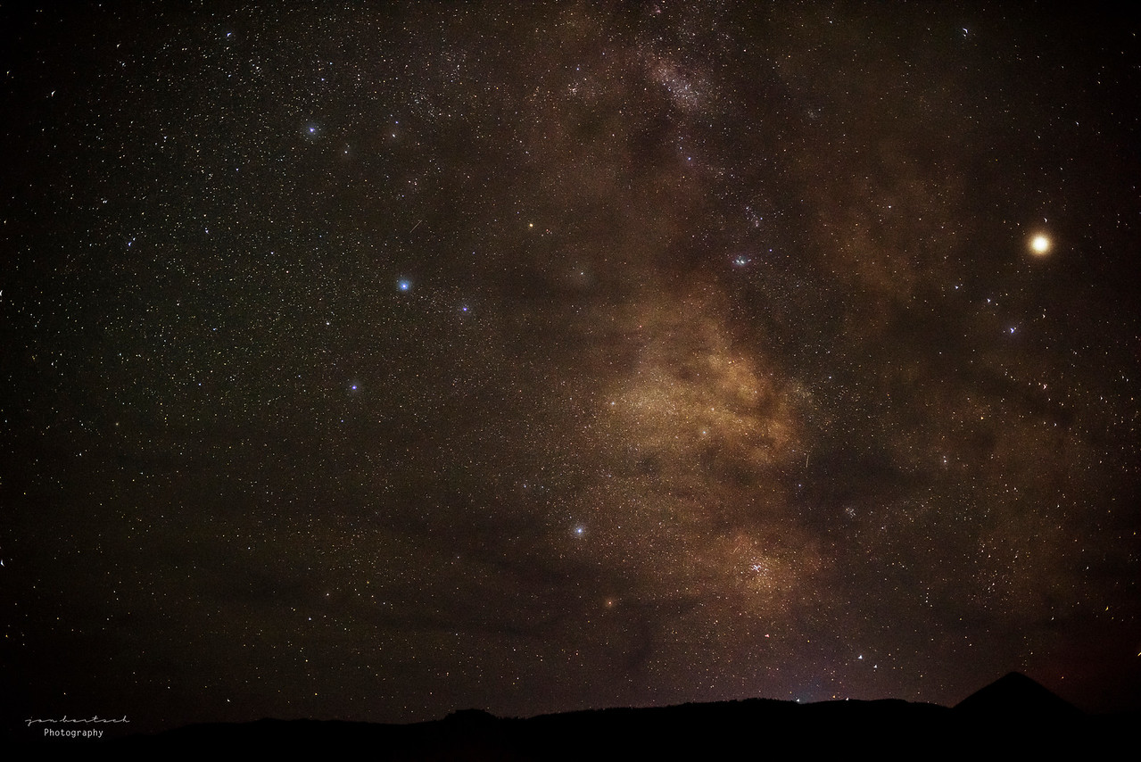Center of the milkyway, Oregon