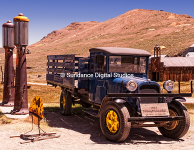 Bodie Ghosttown's famous Dodge truck