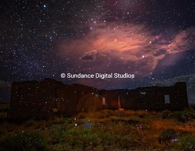 Starry night at Ft. Churchill, NV