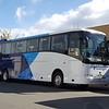 our bus - break at Te Anau next to Lake Te Anau