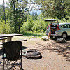 Arrival at the Easley Campground in the Sawtooth National Recreation Area
