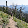 On the Titus Lake Trail in Sawtooth