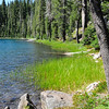 Hiking around the lakes in Lassen