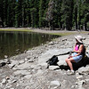 Kings Creek Lake trail in Lassen