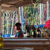 Bar at Sunsail base, Tortola