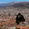 Another of my panoramic shots of Cusco.