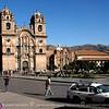 The church of La Compania de Jesus.
