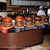 "Food is buffet style served in red clay pots. It reminded me of the Philippines ""Palayok"" or clay pots."