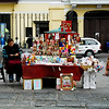 This vendor must have a permit to sell within the plaza of the church.
