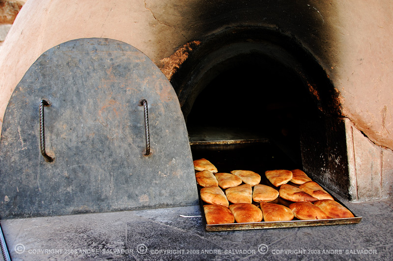This is where thaey bake the empanadas, in a stone oven.