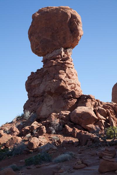 Balancing rock, Arches.