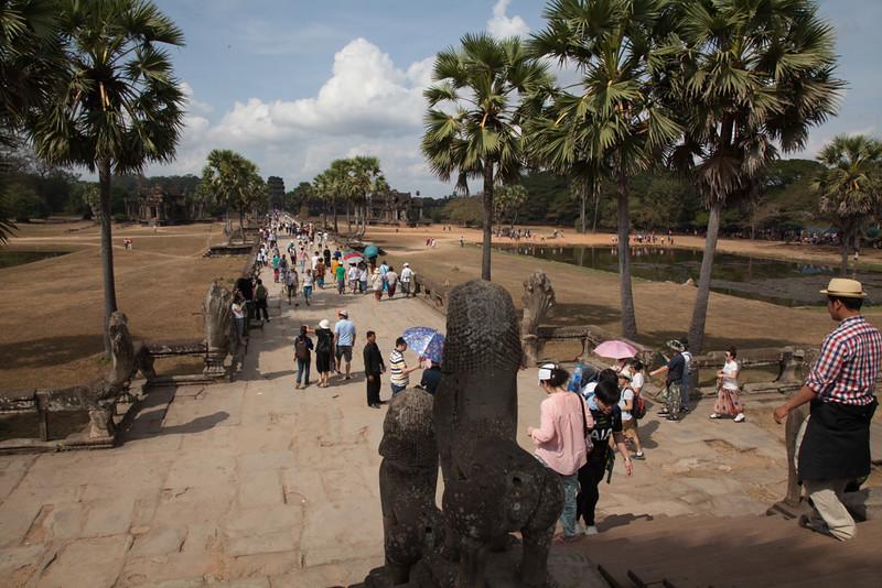 entrance to Angkor Wat main temple