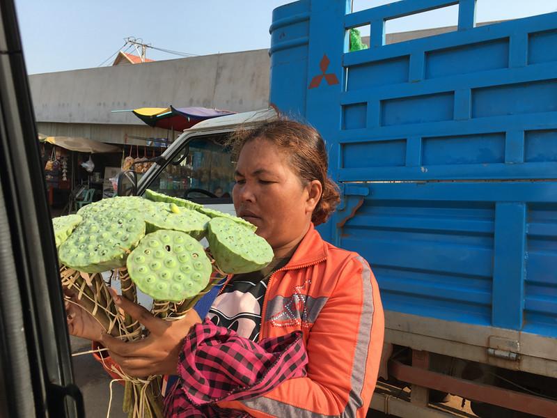 Lotus Flower vendor