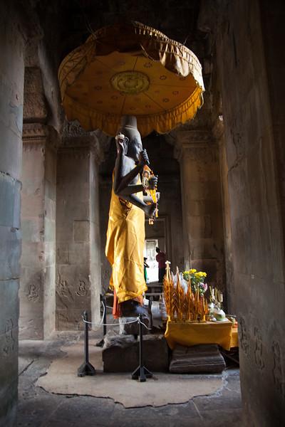 originally Hindu, but Budhists have added their interpretation