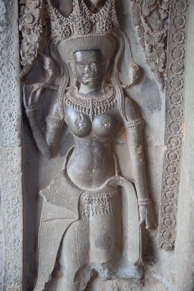Siem Reap - Angkor Wat relief