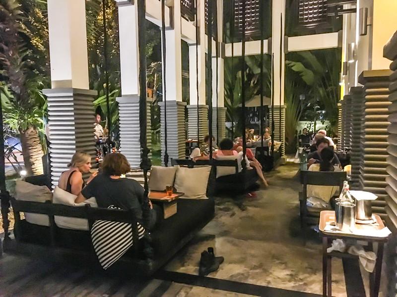 restaurant at Shinta Mani Hotel, Siem Reap