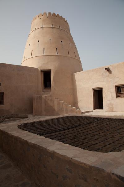 old fort in Khasab, Oman