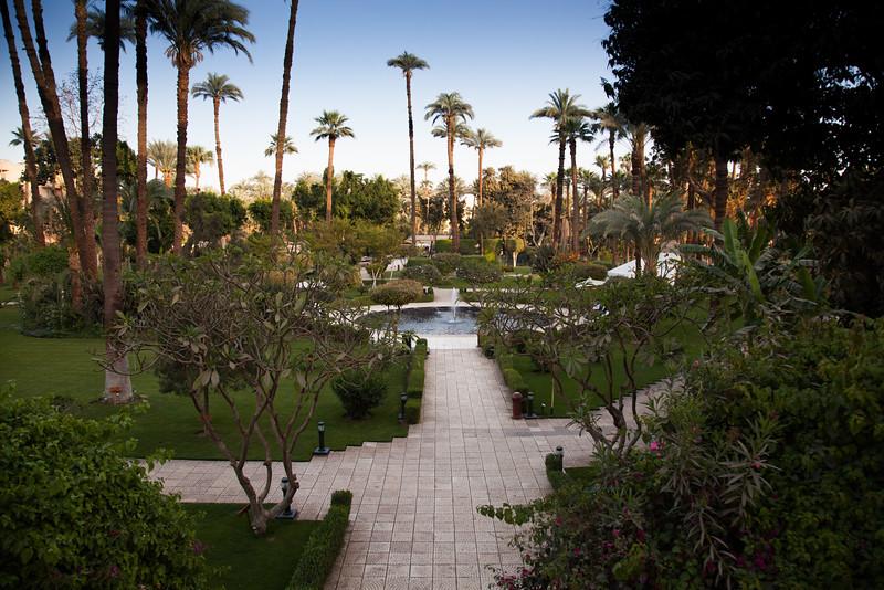 Winter Palace Hotel garden