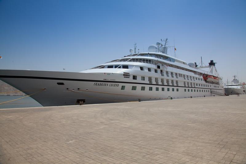 Seabourn Legend in Khasab Oman