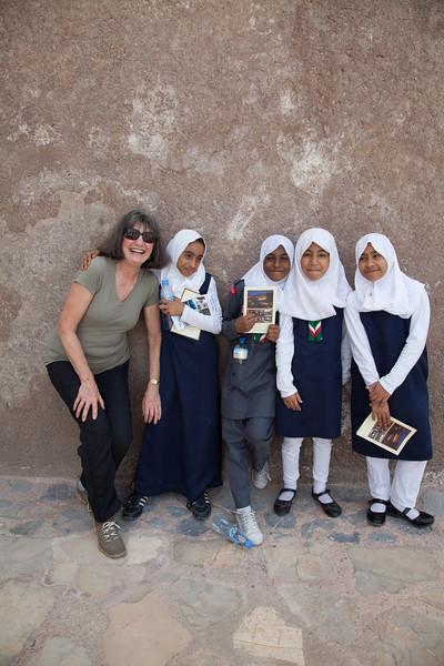 schoolgirls in Oman