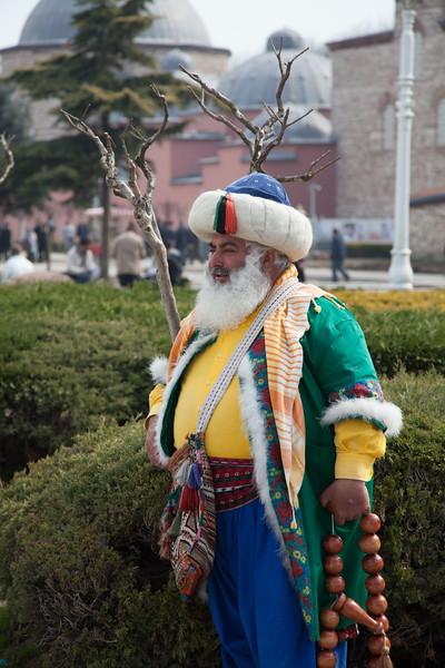 Turkish tourist man