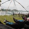 Chinese fishing nets - Cochin